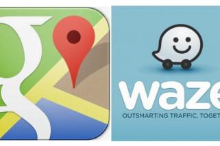 Beda Google Maps dengan Waze