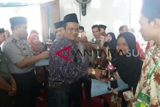 Kecamatan Lubuk Raja OKU raih juara MTQ