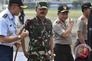 Panglima TNI bersama Kapolri kunjungi korban kapal tenggelam