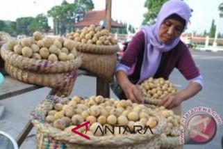 Harga buah duku di Baturaja turun drastis