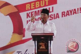Profil - Prabowo ingin berkuasa dengan izin rakyat Indonesia