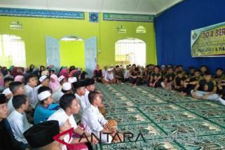 Jelang Liga 1,  Sriwijaya FC doa bersama ratusan santri