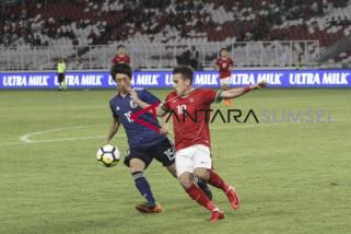 Timnas U-19 Indonesia dikalahkan Jepang 1-4