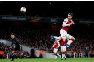 Emery bungkam ditanya soal masa depan Ramsey di Arsenal