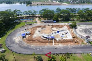 Pembangunan Arena Sepatu Roda Mencapai 37 persen