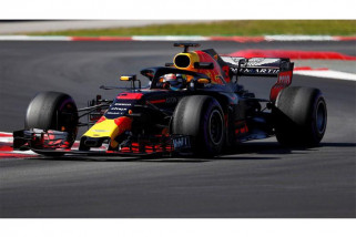 Daniel Ricciardo tercepat pada latihan pertama Grand Prix Jerman