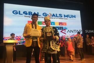 Mahasiswa Unsri raih penghargaan dunia