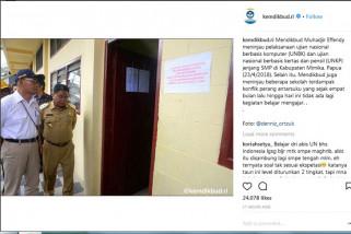 Akun instagram Kemdikbud dihujani keluhan peserta UN