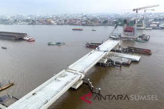 Jembatan Musi IV Palembang terapkan sistem buka-tutup