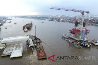 Ganti rugi lahan perlambat progres Jembatan Musi IV