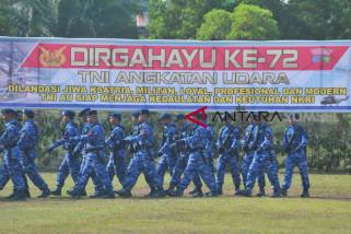 Aksi Penanggulangan Terorisme pada HUT AU di Palembang