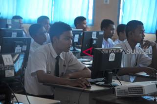 UNBK OKU tertunda  akibat gangguan jaringan internet
