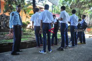 Warga binaan LPKA Palembang ikut ujian nasional