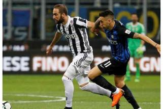 Juve menang 3-2 di markas Inter Milan