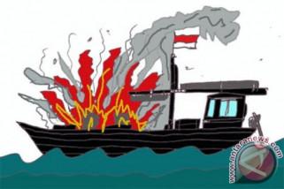 Mesin kapal Dishub Kepuluan Seribu meledak, 9 orang luka