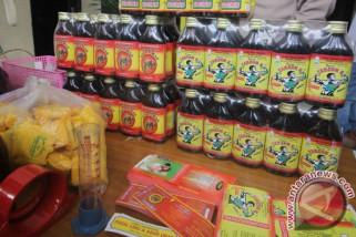Polisi sita 1.404 botol jamu ilegal di Jambi
