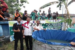 Jejak Indonesia bantu 4.000 bibit ikan lele