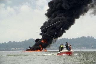 Menteri Susi: Nelayan dukung penenggalaman kapal pencuri ikan