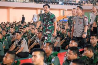Kapolri: TNI dan Polri harus kompak