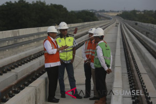 Menhub memprakirakan tarif commuter LRT Palembang Rp5.000