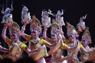 Pementasan Tarian Tradisional Tanah Lot Art and Culture Weekend 2018