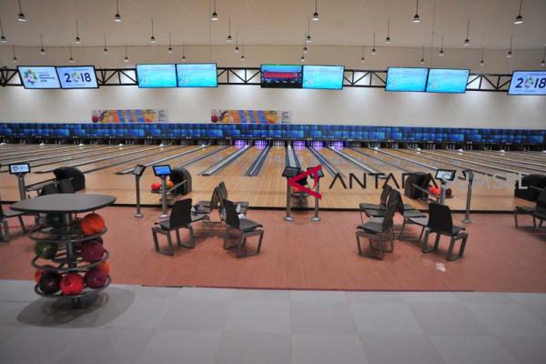 Modern dan mewahnya arena Bowling center Jakabaring