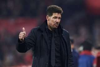 Diego Simeone inginkan stadionnya berisik saat menjamu Arsenal