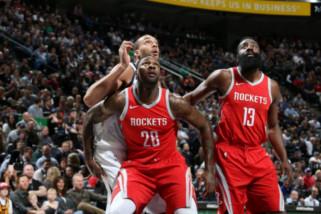 Rockets libas jazz untuk memimpin seri 3-1