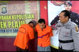 Polsek Plaju tangkap dua spesialis curanmor