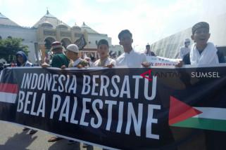 Warga Palembang gelar aksi selamatkan Baitul Maqdis