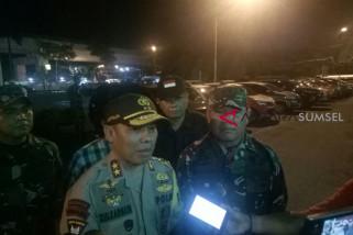 Polda Sumsel dan Kodam II Sriwijaya gelar patroli gabungan