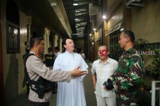 Polresta dan Kodim Palembang patroli keamanan gereja dan mal