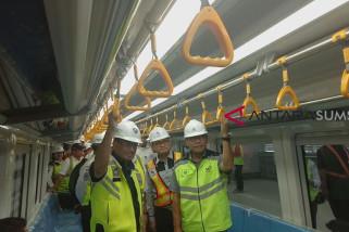 Menteri Perhubungan ikut uji coba dinamis LRT