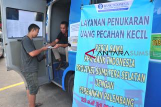 Perbankan se-Palembang buka layanan penukaran di BKB