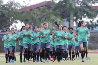 Timnas sepak bola putri siap menjegal Thailand