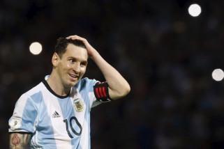 Lionel Messi cetak trigol ketika Argentina menang 4-0 atas Haiti