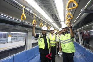 LRT akan menjadi kebanggaan masyarakat Palembang