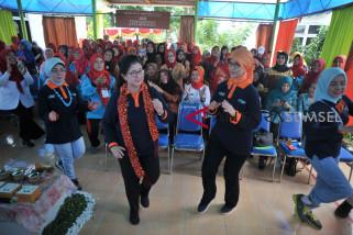 Menkes Nila Moeloek rayakan hari Lansia di Palembang