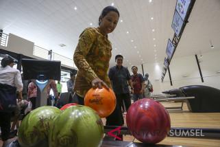 Menteri BUMN Tinjau Arena Boling Jakabaring