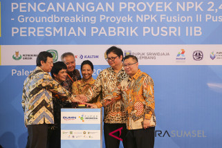 Pupuk Indonesia catat penjualan 8,9 juta ton triwulan III 2018