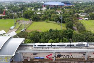 Seluruh stasiun LRT di Palembang rampung 2018