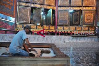 Sambut Asian Games, Al Quran Raksasa Bait Al Akbar direnovasi