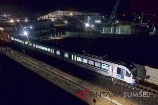 LRT Palembang jadi sarana transportasi wisata