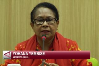 Yohana Yembise minta forum anak putus rantai kekerasan