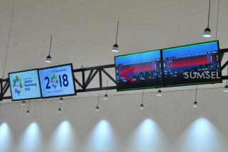 Fasilitas pertandingan Asian Games dilengkapi jaringan internet