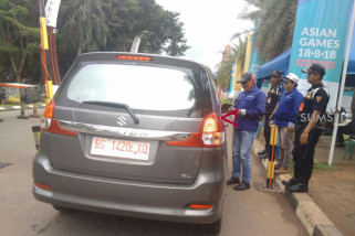 Pengamanan Jakabaring Sport City Palembang mulai ditingkatkan