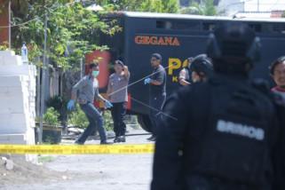 Polisi kejar pelaku pelemparan bom panci
