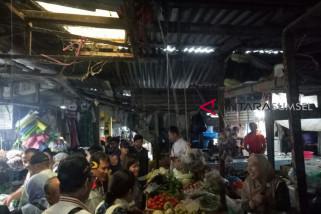 Renovasi lima pasar tradisional Palembang terealisasi
