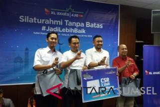 XL Axiata salurkan donasi kuota di Palembang