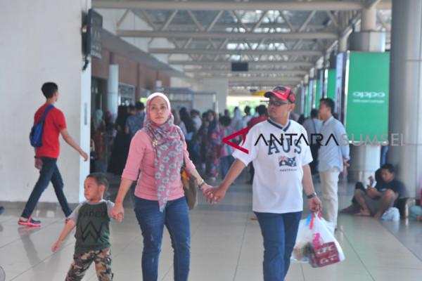 Arus Balik Bandara SMB II Palembang